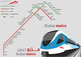 Map Of Metro by Large Detailed Metro Map Of Dubai City Dubai City Large Detailed