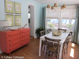 coral cottage dining room table tybee cottages