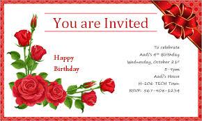 card invitation design ideas happy birthday invitation card