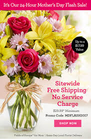 flower delivery free shipping 1 800 flowers today only free shipping s day flash