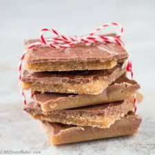 christmas aka saltine cracker toffee little sweet baker