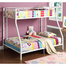 Walker Edison TwinOverFull Bunk Bed White Amazonca Home - Walker edison twin over full bunk bed