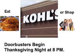 kohl s will open at 8 00 pm on thanksgiving 2013 bestblackfriday