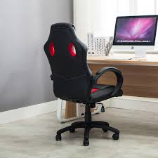 desk chair gaming high back race car style bucket seat office desk chair gaming with