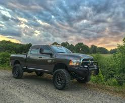 Dodge Ram Off Road - lifted with off road bumper ram cummins dodge pickup trucks