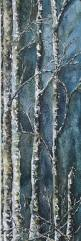 539 best birch trees images on pinterest trees landscape winter trees watercolor by julie black etsy