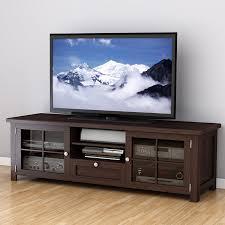 shop corliving arbutus dark espresso tv cabinet at lowes com