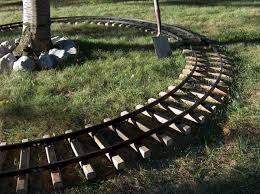 Backyard Trains For Sale by Large Back Yard Riding Train Track