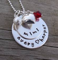 grandmother necklace sted grandmother necklace sterling silver necklace with