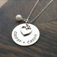 Necklace With Kids Names Personalized Necklace With Kids Names Gracefully Made