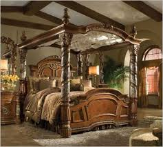 Black King Canopy Bed Enchanting California King Canopy Bed With Aico Furniture