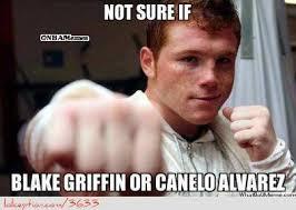 Blake Meme - blake griffin vs canelo alvarez http weheartchicagobulls com