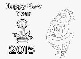 colour drawing free hd wallpapers happy new year 2015 coloring