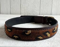 tuesday collar etsy maasai dog collar etsy