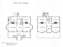 building plans for cabins river cliff cottage floor plans biltmore asheville