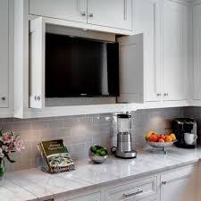 kitchen television ideas best 25 tv ideas on hide tv tvs for dens and