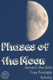 phases of the moon moon activities and a free printable