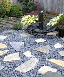 fresh large river rock landscaping 48 photos