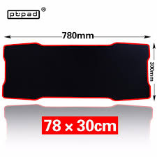 Large Gaming Desk Pbpad Large Gaming Mouse Pad 780 300mm Plain Extended Anti Slip