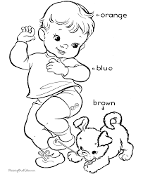 printable coloring pages to learn colors learn colors for toddlers 017