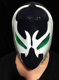 Spawn Costume Mexican Premium Spandex Wrestler Classic Spawn Mask Costume