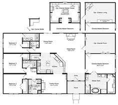 Hacienda Floor Plans The Harbor House Iii 2077 Sq Ft Manufactured Home Floor Plans In