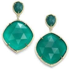 emerald drop emerald drop earrings polyvore