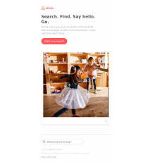 airbnb on email hunt the world u0027s most inbox rocking newsletters