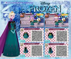 animal crossing new leaf qr code hairstyle animal crossing new leaf qr elsa from frozen by rasberry jam
