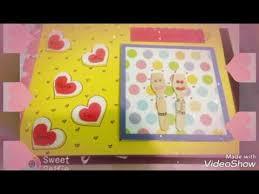 birthday scrapbook greeting cards youtube