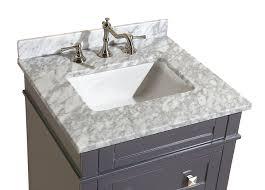 Wayfair Bathroom Vanity by Kitchen Bath Collection Kbc L24gycarr Eleanor Bathroom Vanity With