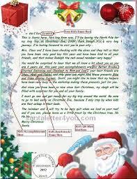 santa claus letters write email santa claus free letters from santa claus free