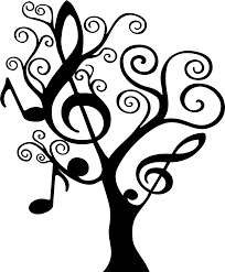 our popular musically themed tree in larger sizes tree is shown
