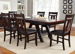 liberty furniture lawson 7 piece rectangular trestle table and