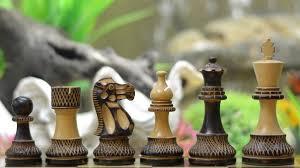buy chess set buy burnt handcarved chess set online in burnt box wood
