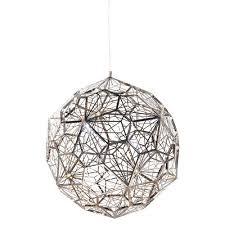 Orb Ceiling Light Large Silver Arabesque Orb Ceiling Light Shropshire Design