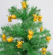 amazon com pokemon go 12 piece pikachu christmas ornament set