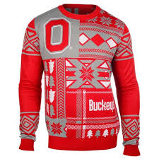 ohio state buckeyes ugly christmas sweater christmas sweater