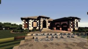contemporary craftsman house plans contemporary craftsman home minecraft house design