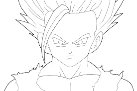 10 images of teen gohan coloring pages teen gohan ssj2 coloring