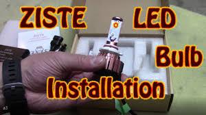 Led Light Bulbs For Headlights by Diy Ziste 4k Led Light Bulb Headlight Bulb Installation 98 Chevy