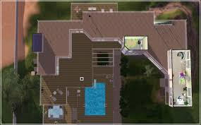 Lakeside Floor Plan Mod The Sims 125 Lakeside Drive Ts2 To Ts3