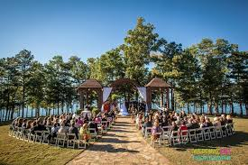 unique wedding venues island fall wedding at lake lanier island of atlanta www