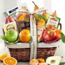 sympathy fruit baskets sympathy fruit gifts a gift inside