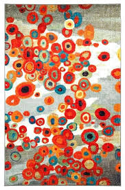 Modern Area Rugs Toronto Fantastic Contemporary Area Rug Scattered Flowers Area Rug