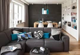 wohnzimmer blau wei grau ziakia - Wohnzimmer Modern Blau