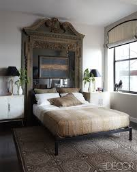 get the look create your own dramatic headboard using old doors