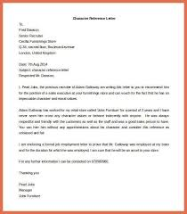reference letter template word bio example