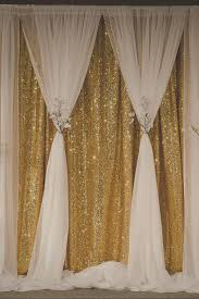 Wedding Backdrop Ebay Gold Sequin Curtain Becomes Soft And Romantic When You Create This