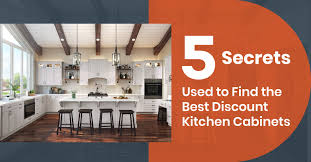 best place to get kitchen cabinets on a budget 5 secrets to find the best discount kitchen cabinets